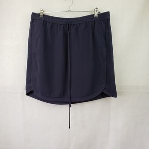 J Crew Navy Skirt with Pockets Size 16